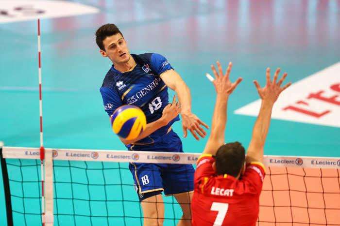 Volley: débuts écrasants des Français contre l'Islande en qualifs du Mondial