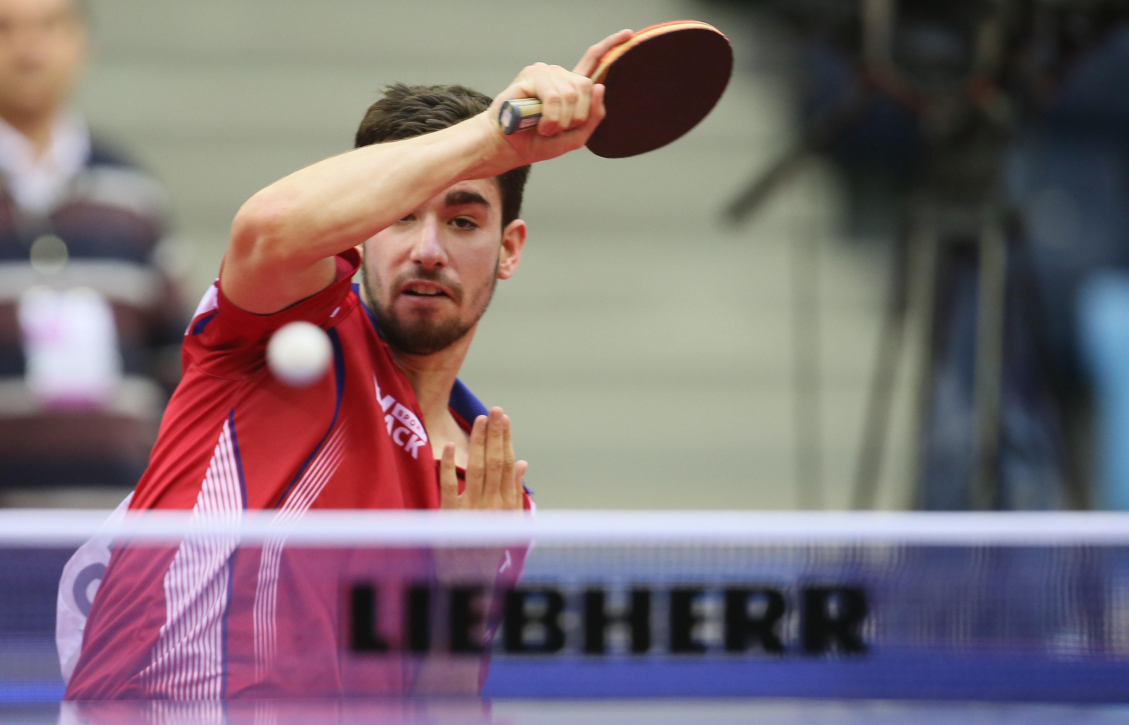 Tennis de table l 39 quipe de france pour les mondiaux d voil e - Equipe de france de tennis de table ...