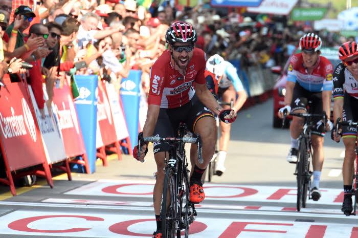 Statu quo avant l'Angliru, De Gendt en profite — Tour d'Espagne