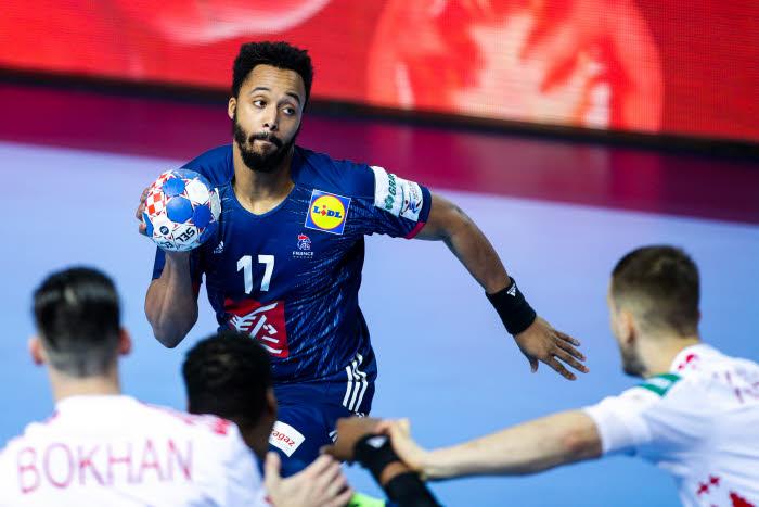 Handball: N'Guessan forfait pour la suite de l'Euro