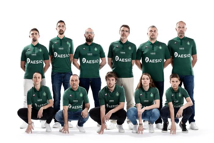 Les nouveaux maillots ont été présentés — ASSE