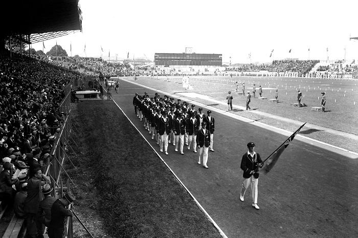Stade Yves-du-Manoir : Les J.O. 100 ans après !