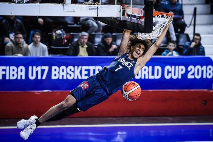 Coupe du monde de basket u17 les bleus cartonnent - Coupe du monde de basket ...