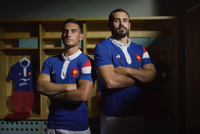 Le coq sportif habille l'Équipe de France de rugby